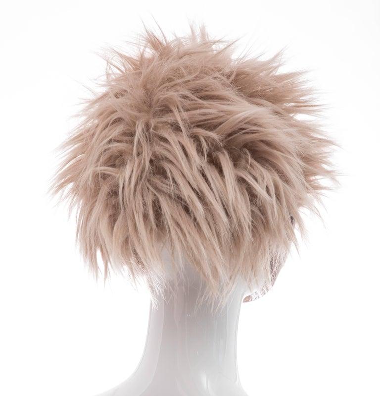 Brown Prada Runway Hat, Fall 2011 For Sale