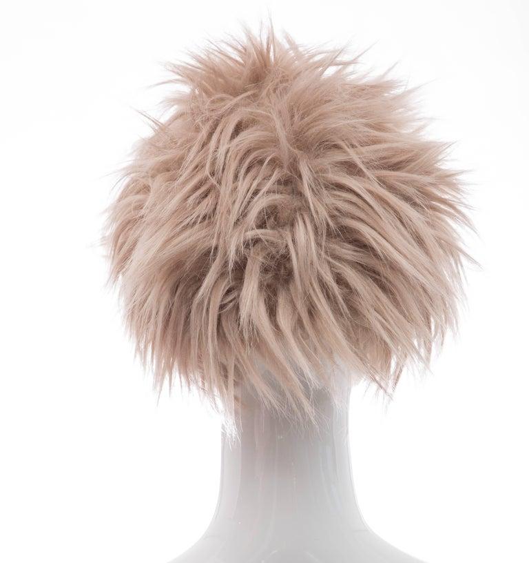 Prada Runway Hat, Fall 2011 In New Condition For Sale In Cincinnati, OH