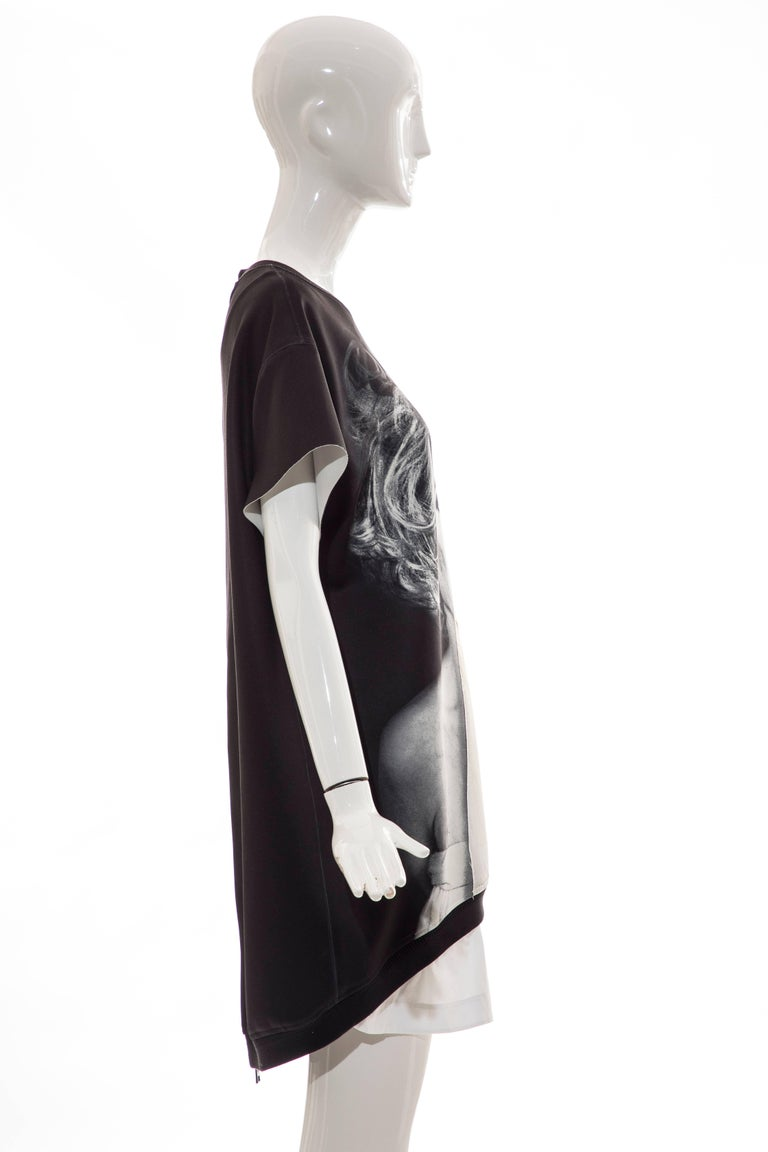 Women's or Men's Christopher Makos For Ports 1961 Andy Warhol Altered Images Black Mini Dress,  For Sale