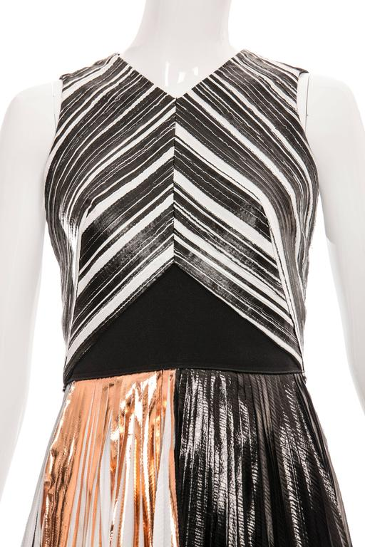 Proenza Schouler Sleeveless Crystal Pleated Dress, Spring - Summer 2014 6