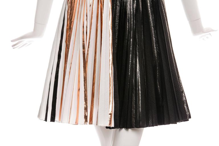 Proenza Schouler Sleeveless Crystal Pleated Dress, Spring - Summer 2014 8