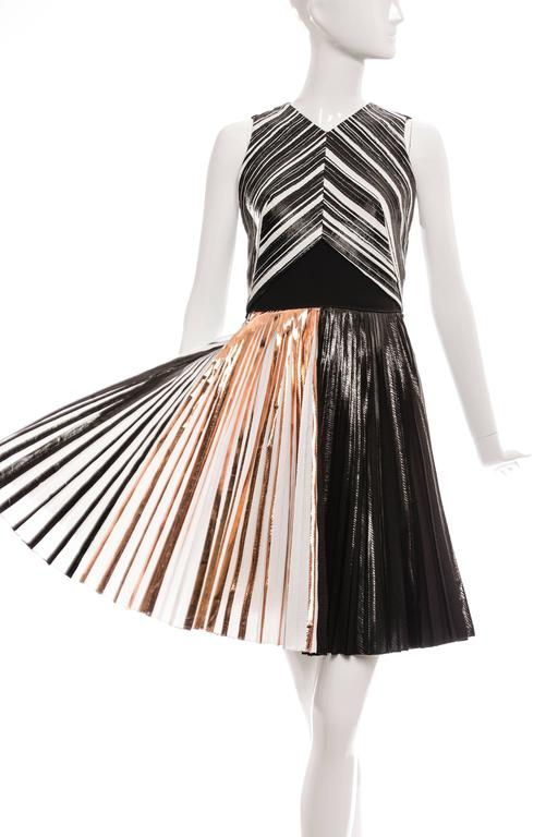 Proenza Schouler Sleeveless Crystal Pleated Dress, Spring - Summer 2014 4