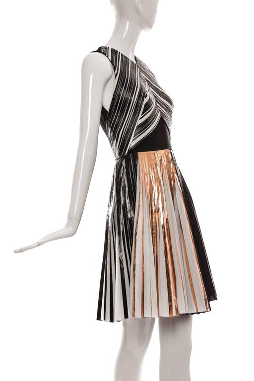 Proenza Schouler Sleeveless Crystal Pleated Dress, Spring - Summer 2014 3