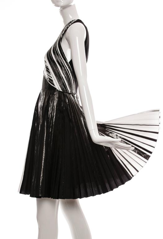 Proenza Schouler Sleeveless Crystal Pleated Dress, Spring - Summer 2014 7
