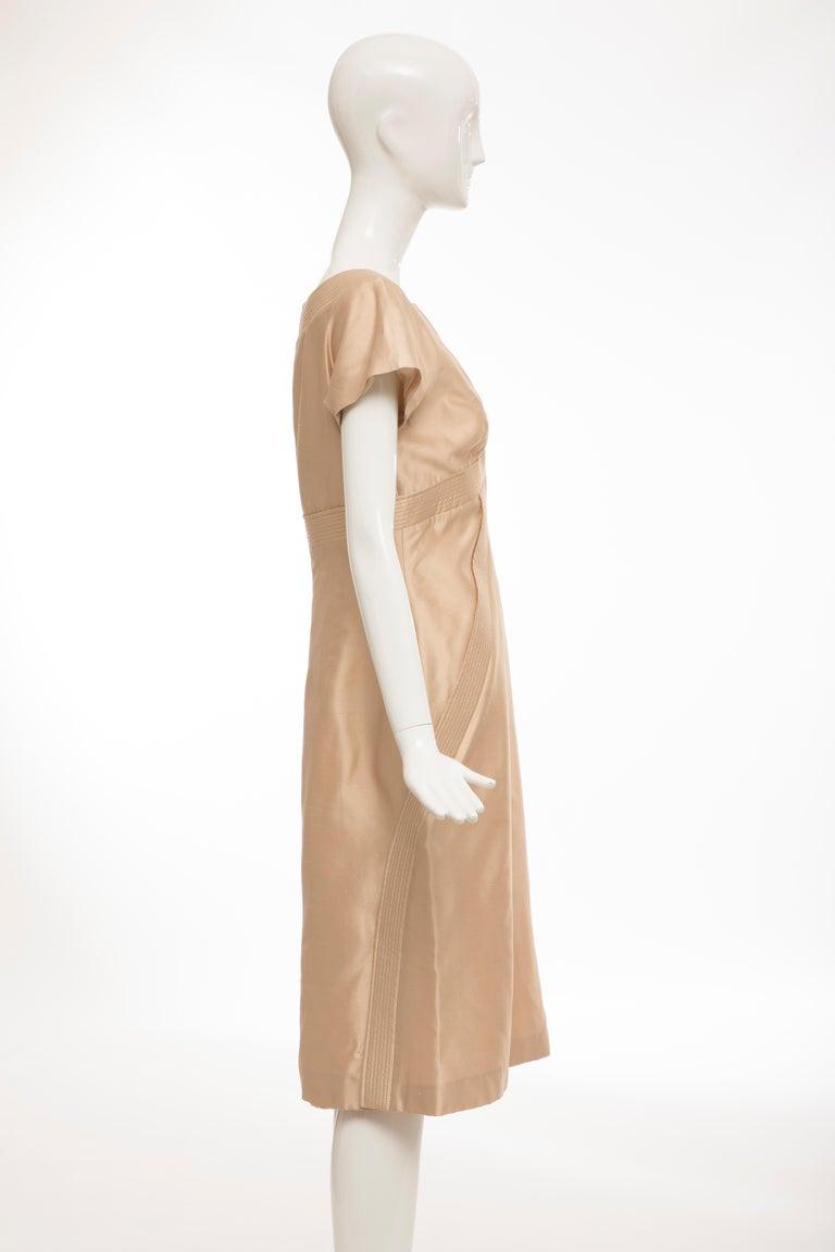 Women's Alexander McQueen Silk Evening Dress, Spring 2006 For Sale