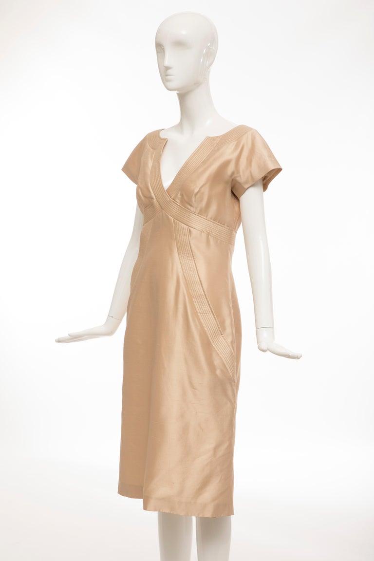 Alexander McQueen Silk Evening Dress, Spring 2006 For Sale 5