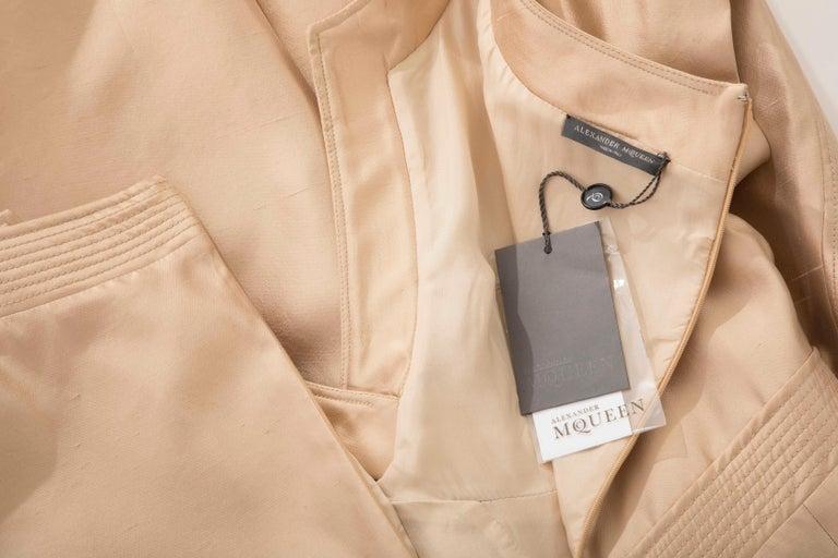 Alexander McQueen Silk Evening Dress, Spring 2006 For Sale 6