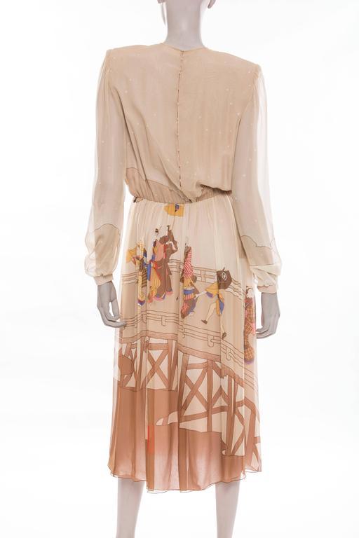 Hanae Mori In Excellent Condition For Sale In Cincinnati, OH