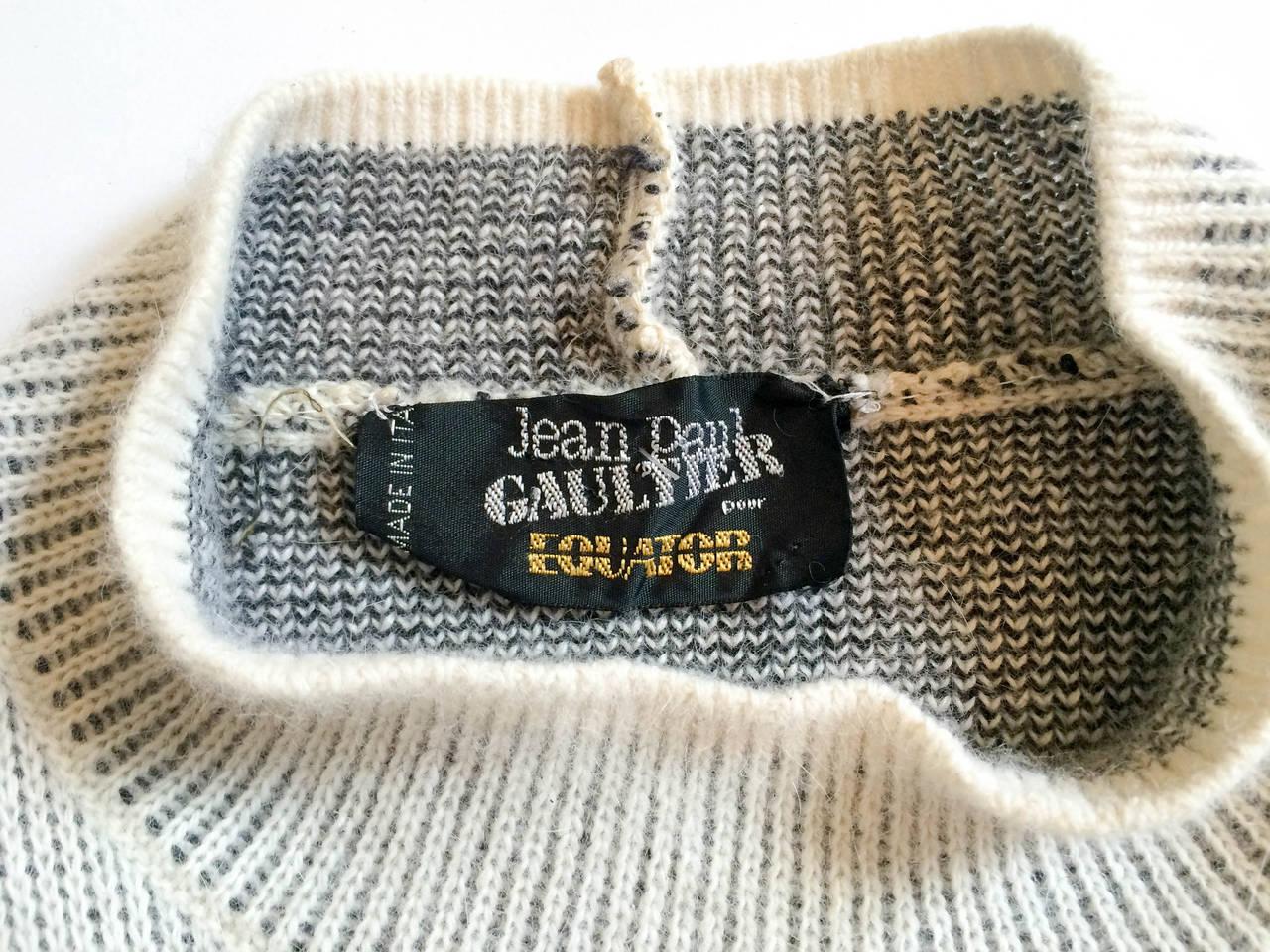 Jean Paul Gaultier Wool Dress - 1985 10