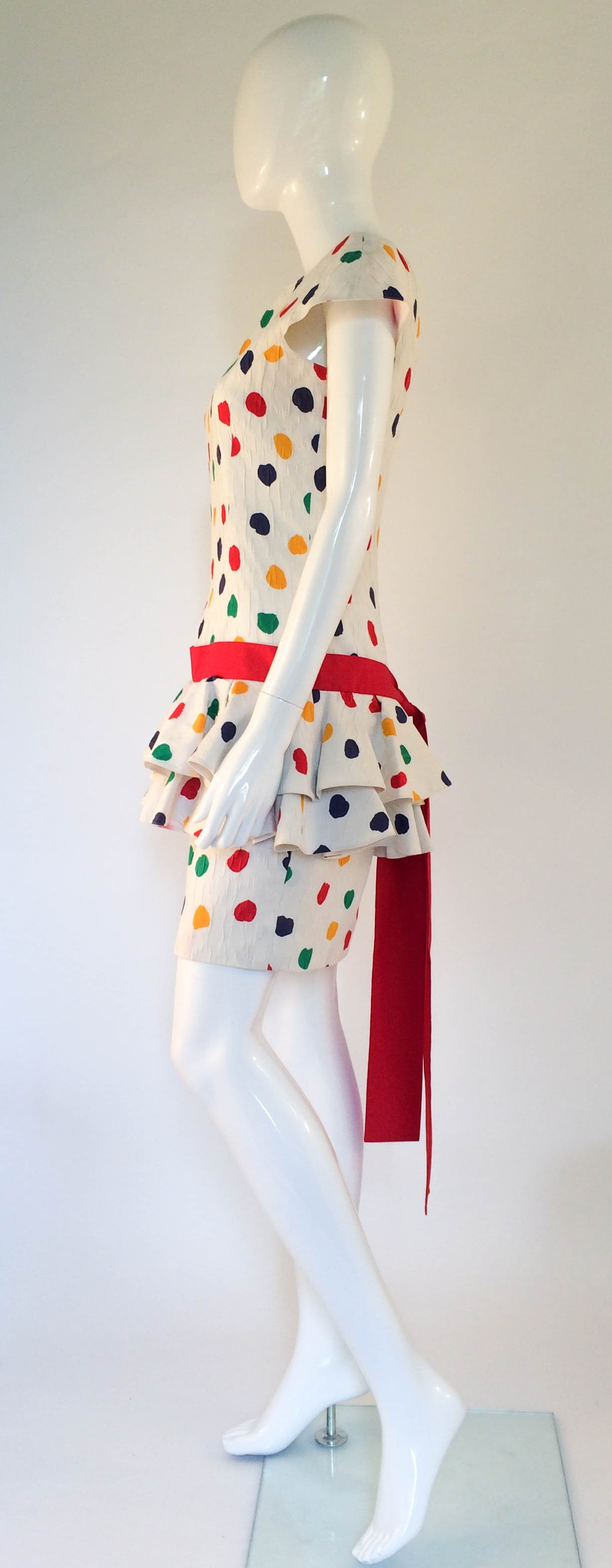 Guy Laroche Cocktail Dress - 1980s 6
