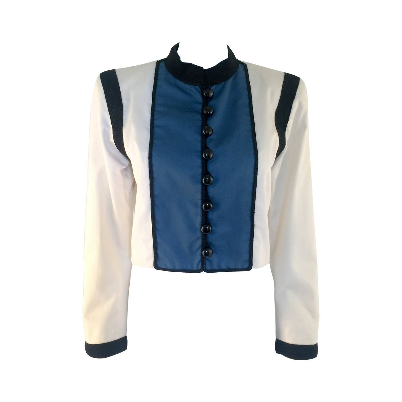 fdc59a3b5ee Yves Saint Laurent Jacket - 1980s at 1stdibs