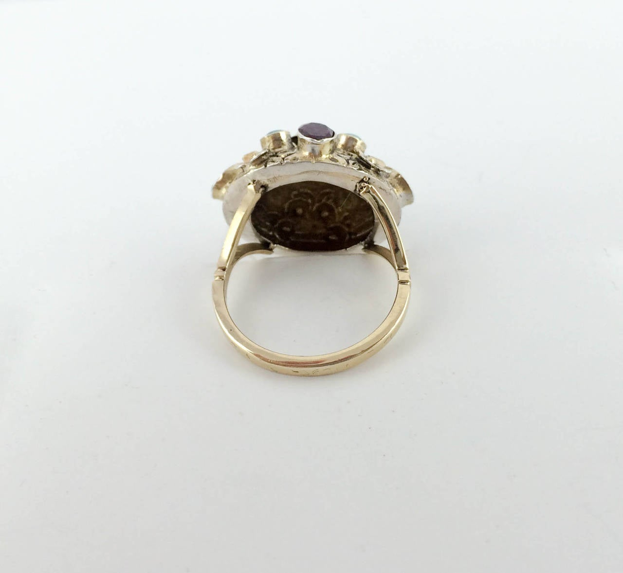 autro hungarian ring 1900s at 1stdibs