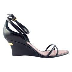 Louis Vuitton Strawberry Wedges Sandals - 2009