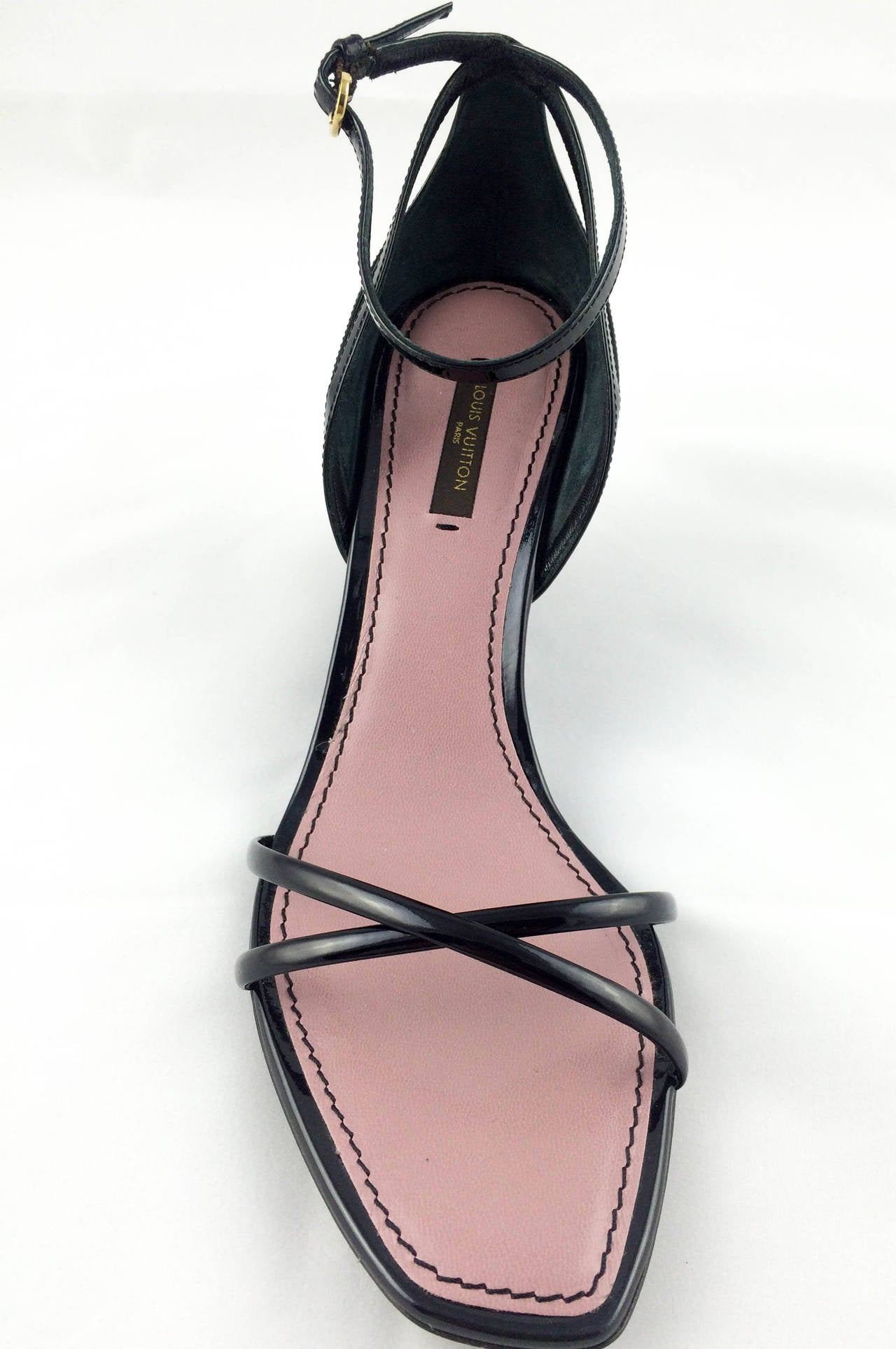Women's Louis Vuitton Strawberry Wedges Sandals - 2009 For Sale