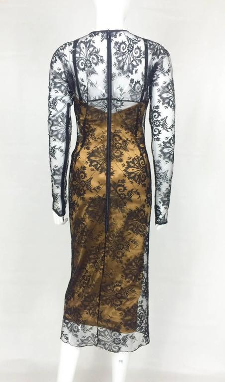Dolce and Gabbana Two-Piece Lace Dress For Sale 1