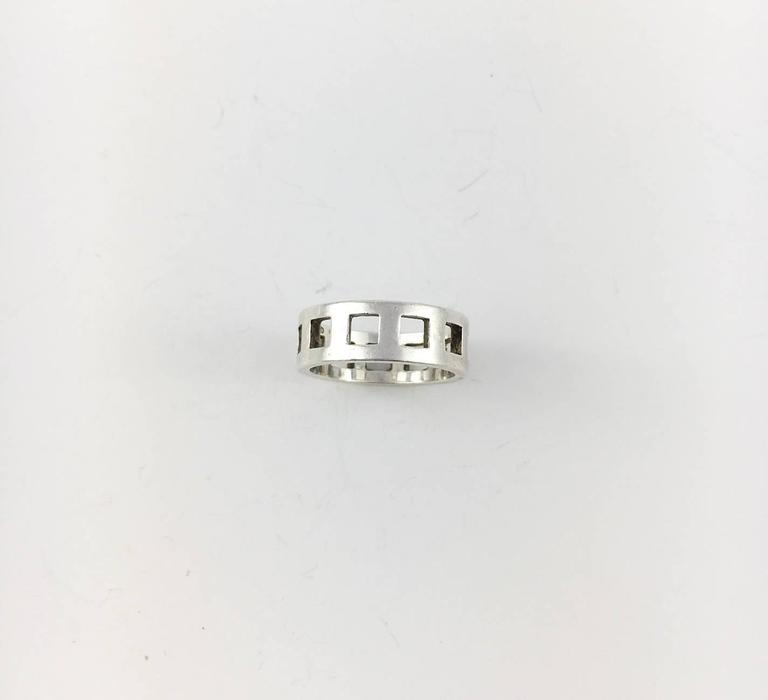 Gucci Silver Set (Bracelet and Ring) - 2000s For Sale 1