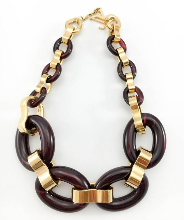 Louis Vuitton 'Gimme a Clue' Collection Necklace - 2011 For Sale 6