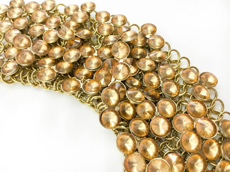 Celine Gold-Tone Beaded Necklace - 1990s 7