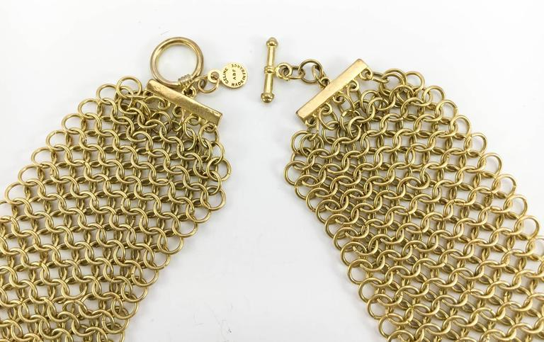 Celine Gold-Tone Beaded Necklace - 1990s 10