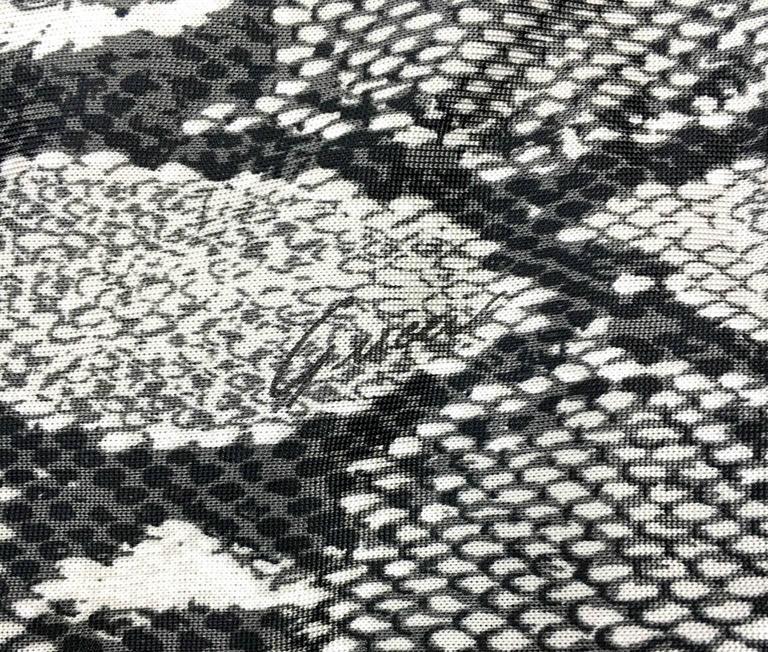 Gucci by Tom Ford Runway Python Print Dress - Circa 2000 For Sale 4