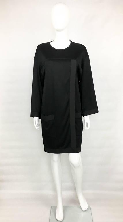 1990s Chanel Black Jumper Dress 2