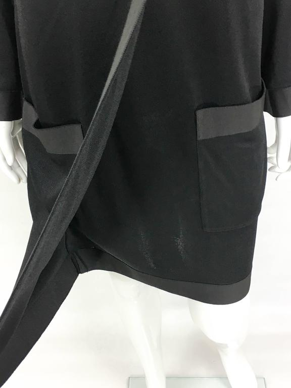 1990s Chanel Black Jumper Dress 4