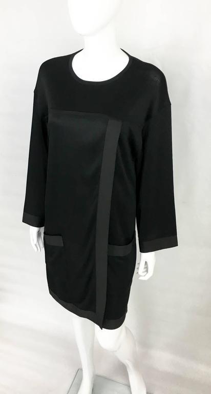 1990s Chanel Black Jumper Dress 6