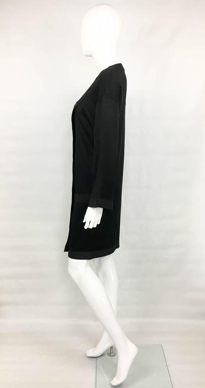 1990s Chanel Black Jumper Dress 7