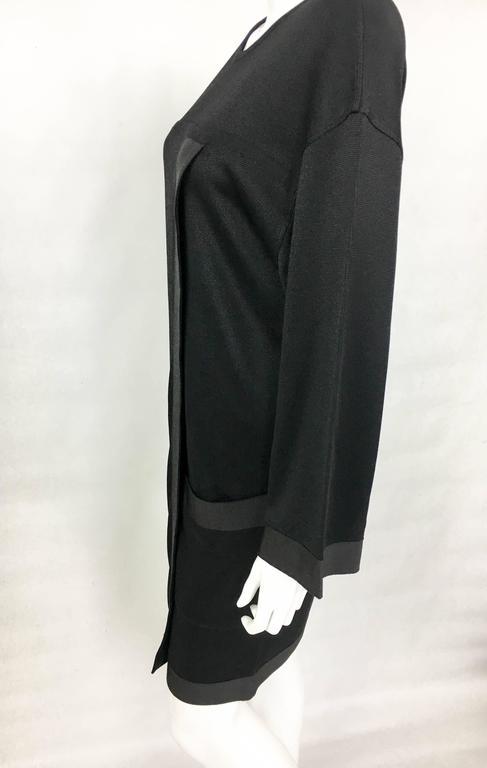 1990s Chanel Black Jumper Dress 8