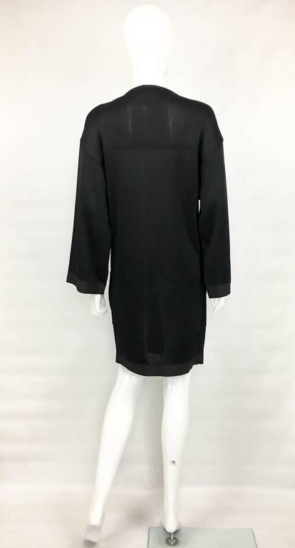 1990s Chanel Black Jumper Dress 9