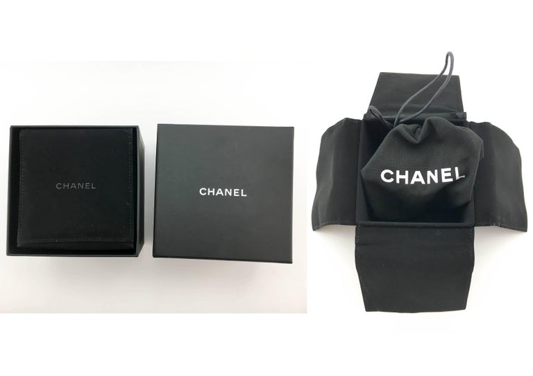 Chanel Runway Look Diamanté Embellished Gunmetal Coloured Chunky Chain Choker For Sale 5