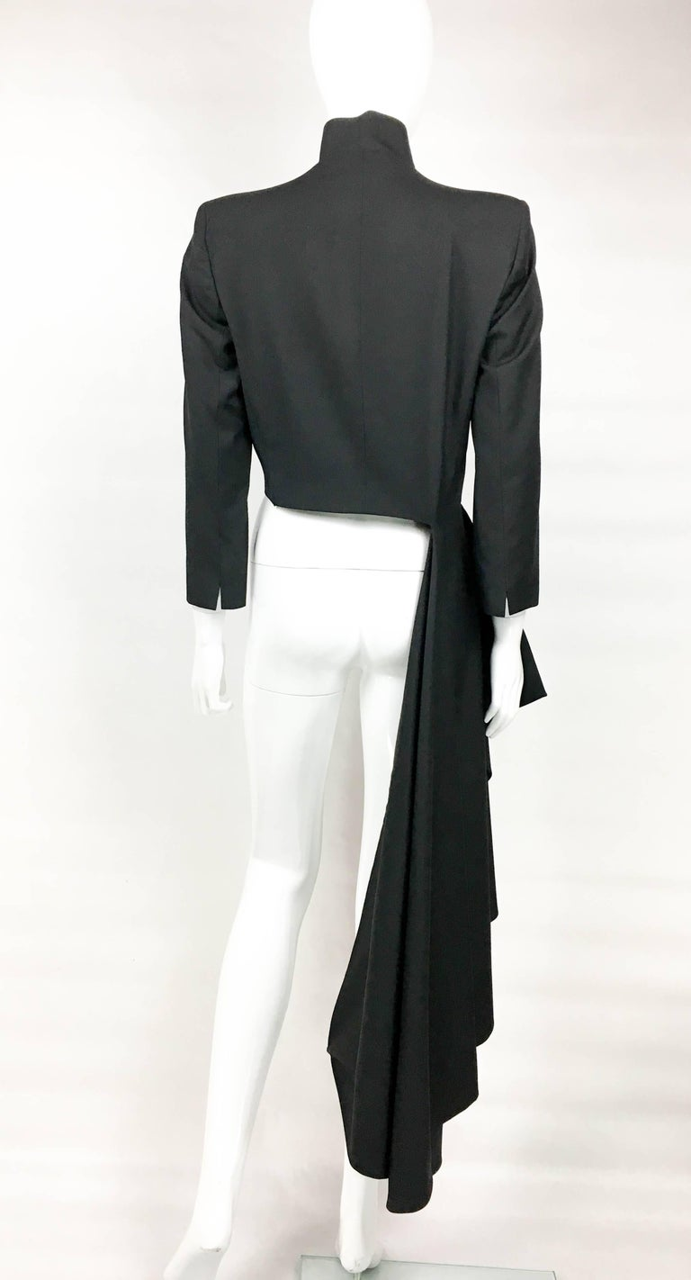 2002 Runway Alexander McQueen 'The Dance of the Twisted Bull' Matador Jacket For Sale 3