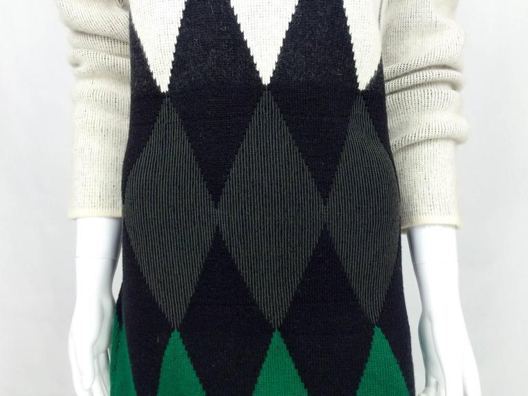 Jean Paul Gaultier Wool Dress - 1985 7