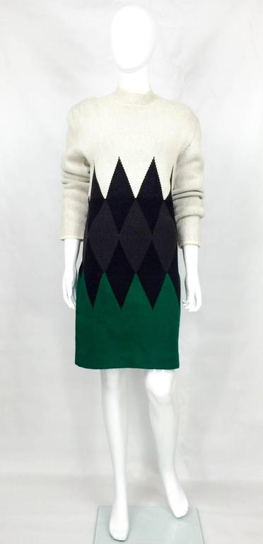 Jean Paul Gaultier Wool Dress - 1985 3