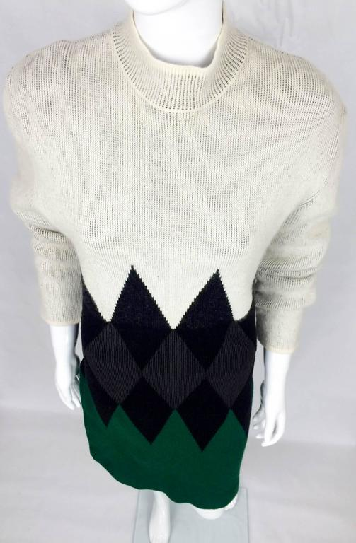 Jean Paul Gaultier Wool Dress - 1985 6
