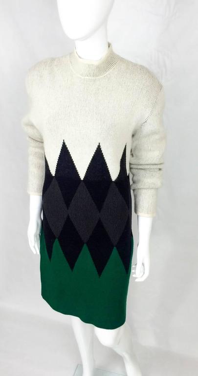 Jean Paul Gaultier Wool Dress - 1985 5