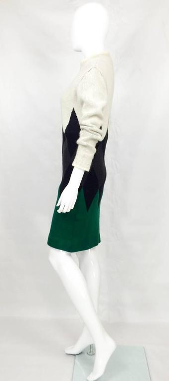 Jean Paul Gaultier Wool Dress - 1985 8