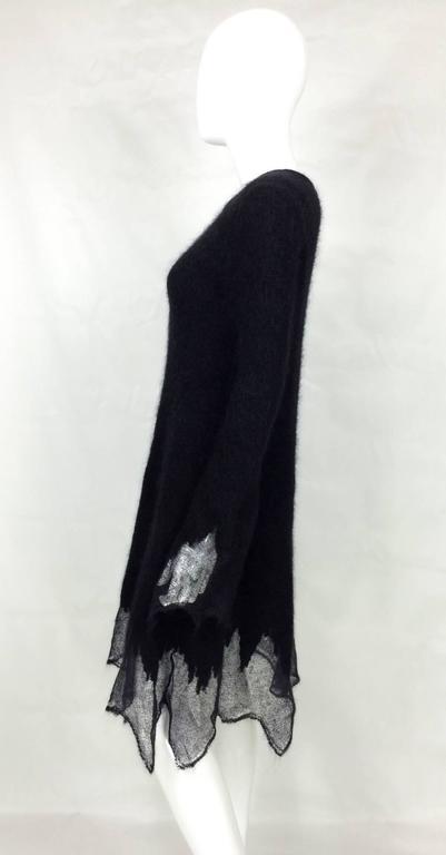 Women's Chanel Mohair Dress - Runway Fall 2009 For Sale