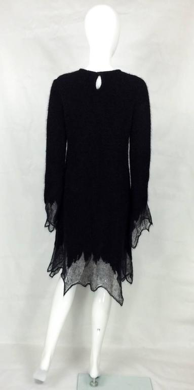 Chanel Mohair Dress - Runway Fall 2009 For Sale 2