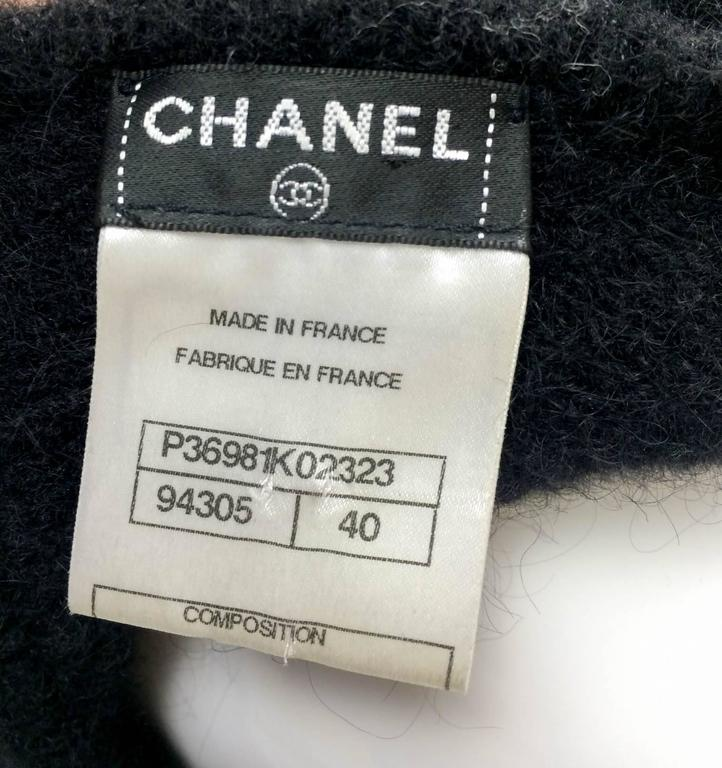 Chanel Mohair Dress - Runway Fall 2009 For Sale 4
