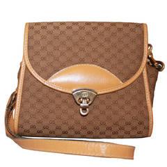 Gucci Vintage Monogram Handbag