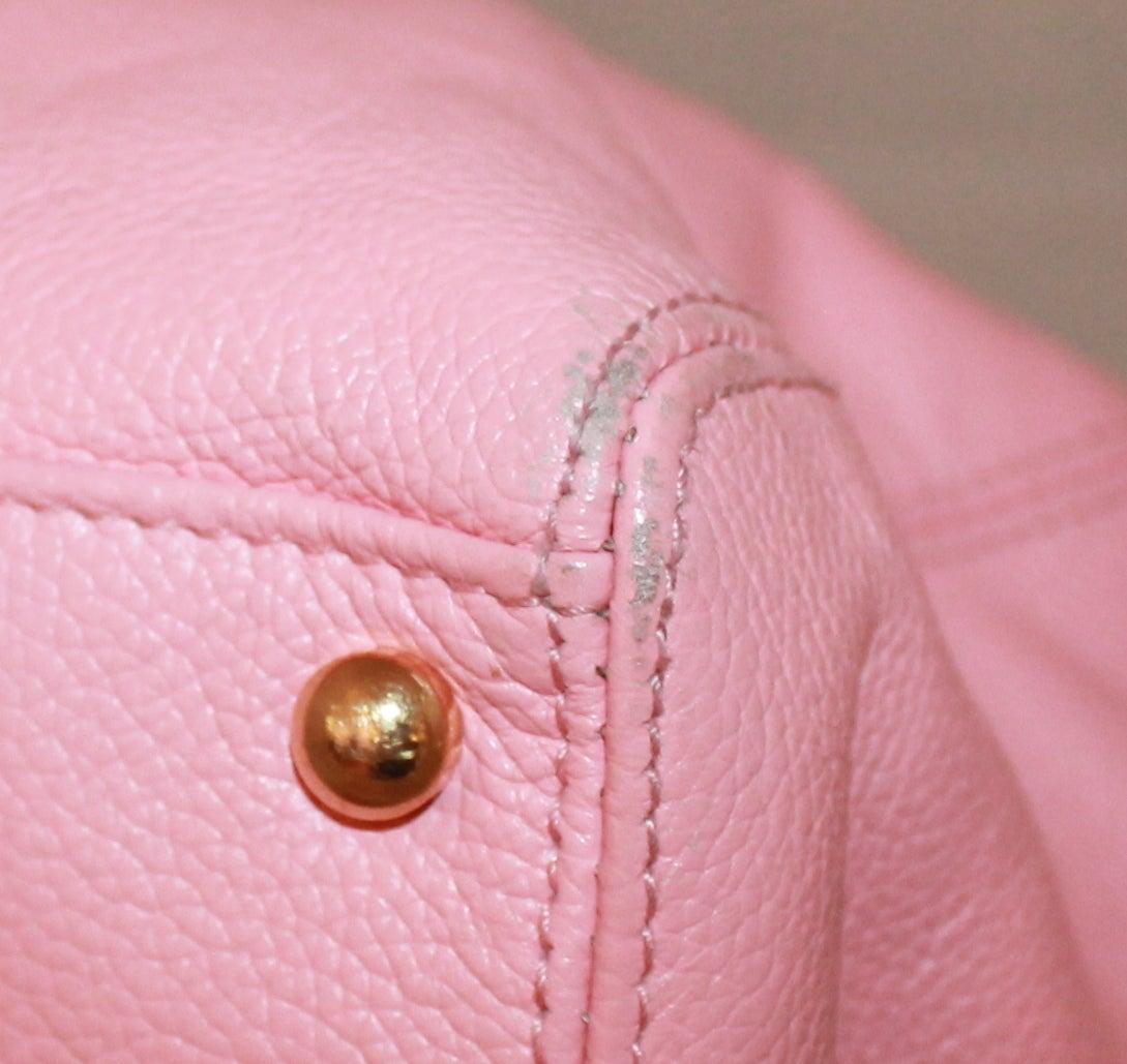 Chanel Vintage Pink Caviar Leather Tote - circa 2005 6