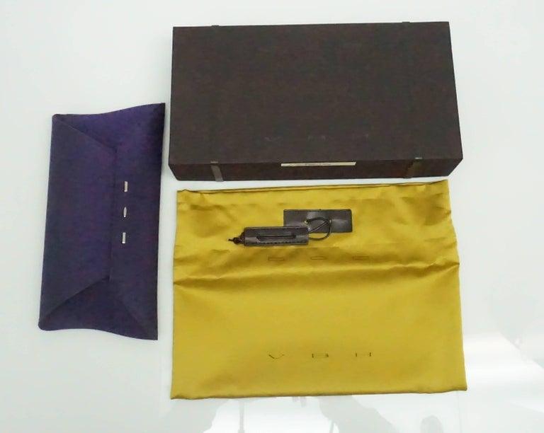 Women's VBH Purple Sparkle Manila Clutch For Sale