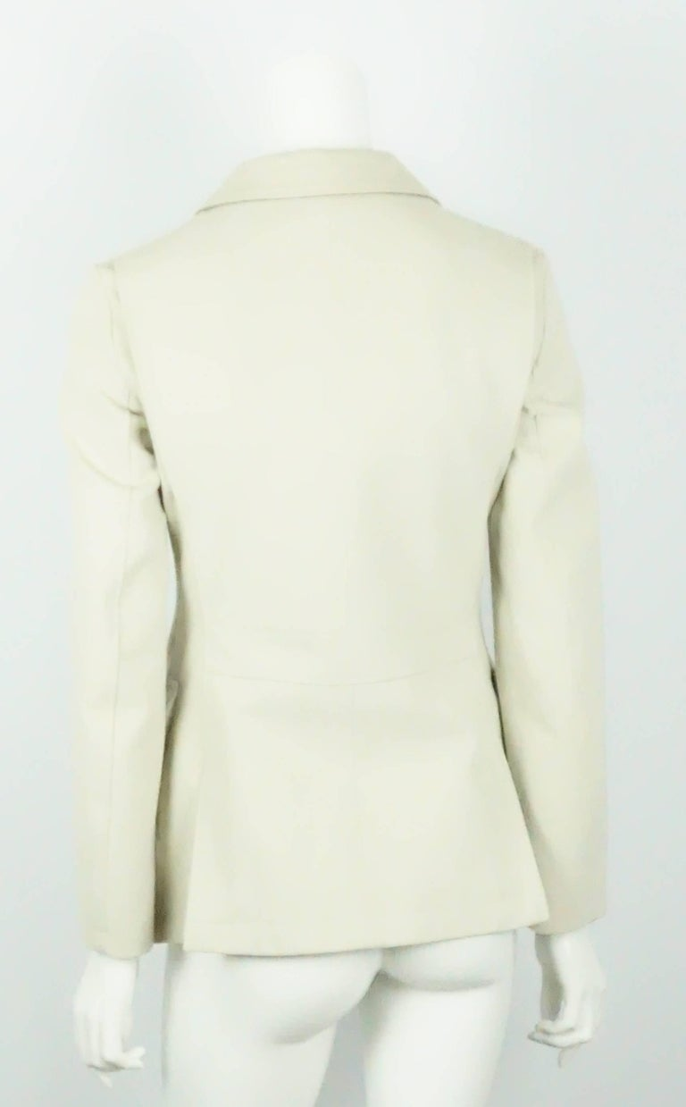Beige Loro Piana Tan Cotton Jacket - 38 For Sale