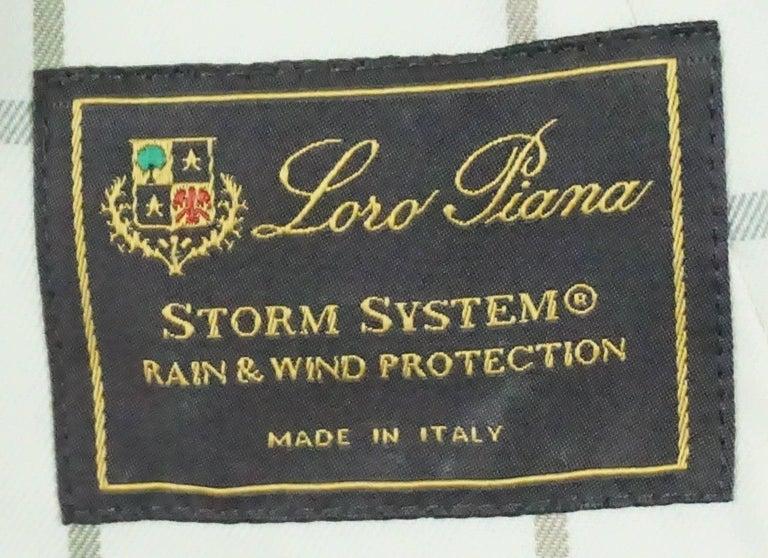 Women's Loro Piana Tan Cotton Jacket - 38 For Sale