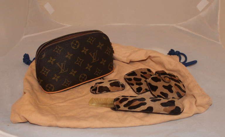 84dafa398b0e Louis Vuitton Centenaire Monogram Alma Bag By Azzedine Alaia - Circa 1996.  The bag includes