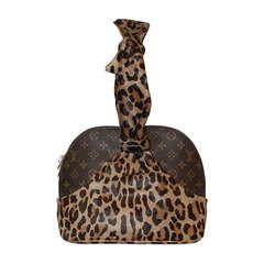 Louis Vuitton Centenaire Monogram Alma Bag By Azzedine Alaia - Circa 1996