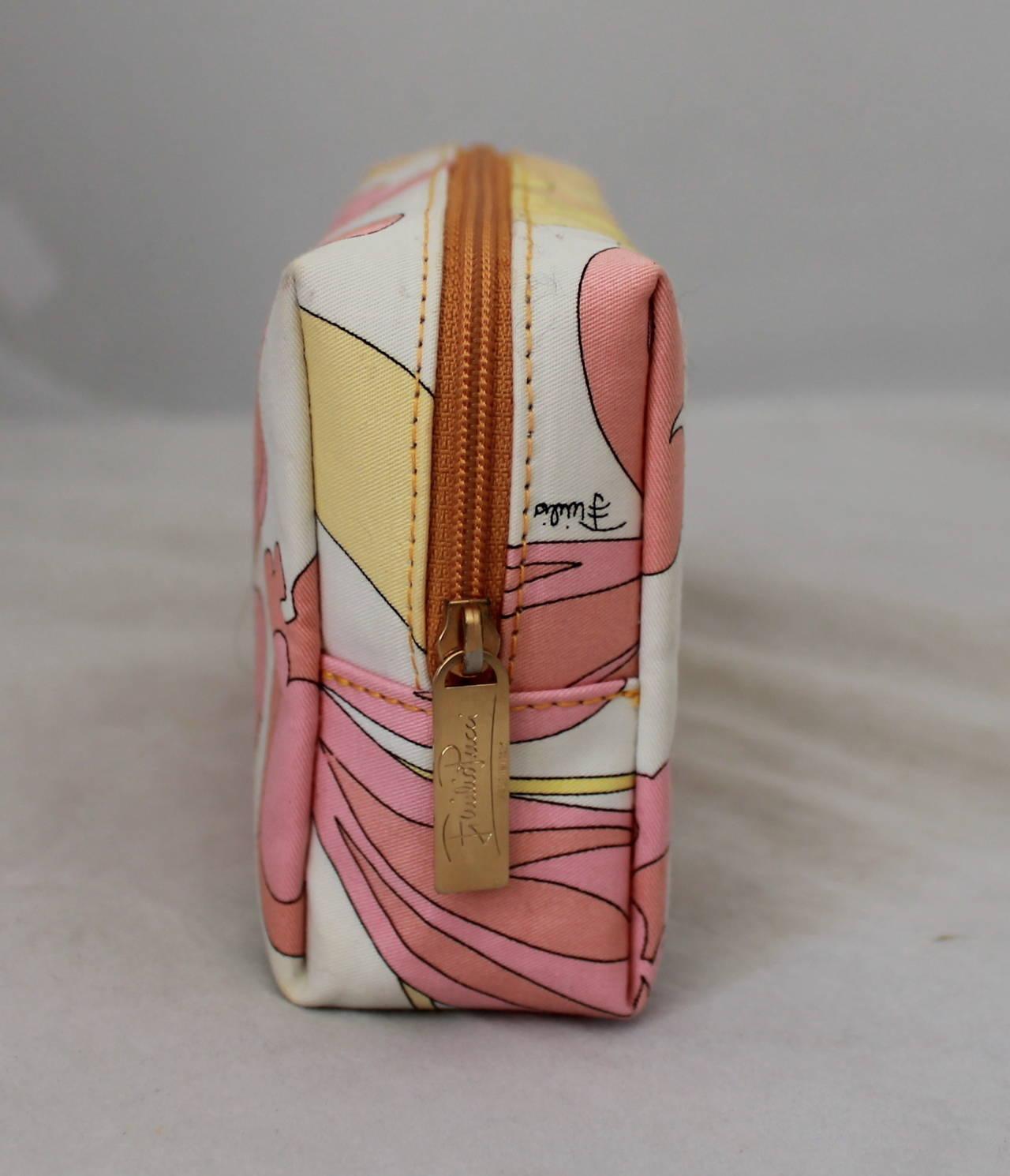 Emilio Pucci Multi Print Make Up Case 3