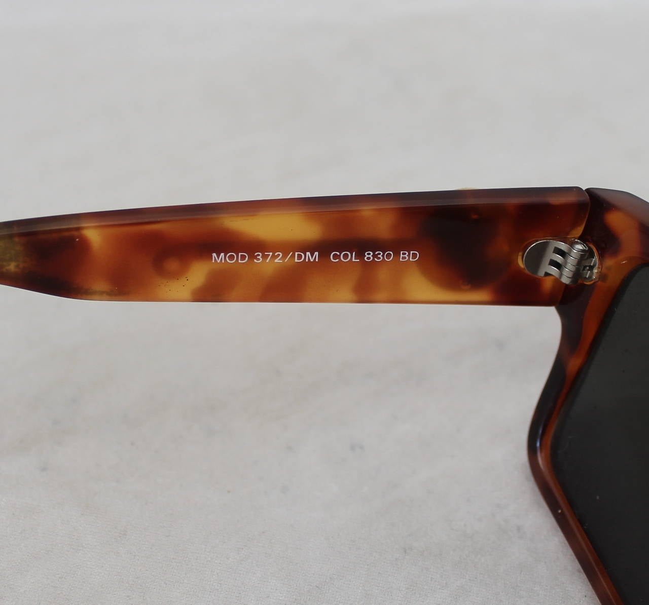 Versace 1990's Vintage Tortoise & Gold Emblem Sunglasses 5