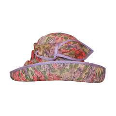 Herald & Heart Floral Print Sloop Style Hat